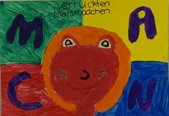 Marsmädchen Plakat